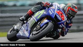 Hasil Latihan Bebas FP2 MotoGP Belanda 2017:  Vinales Tercepat, Rossi P6