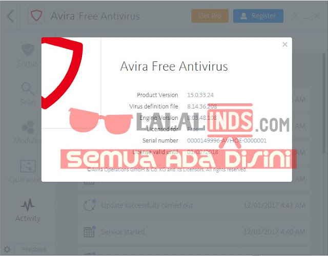 Download Avira Free Antivirus 15.0.34.17 Offline Installer