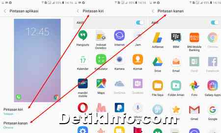 Cara Buat Pintasan Aplikasi Kunci Layar Hp Samsung Detik Info