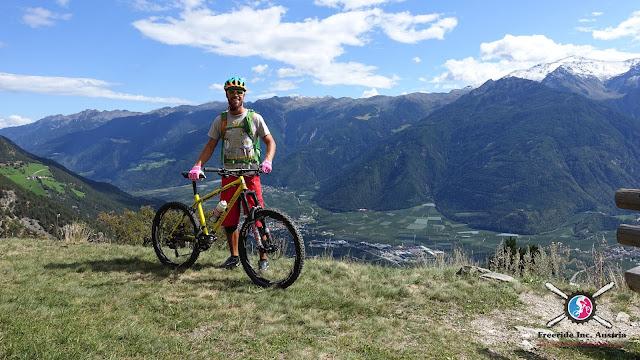 gondelbahn st. Martin Mountainbike