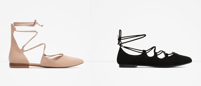 24f18eb1be5a1 Nueva Colección de Zapatos de ZARA Otoño Invierno 2015