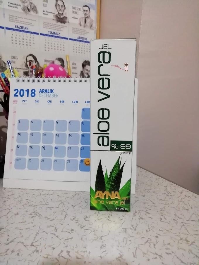 AYNAsun  Aloe Vera Jel // %99 Bioaktif