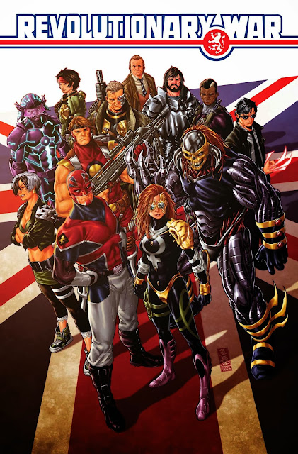 Marvel UK Revolutionary War Alpha coming to Marvel comics January 2014