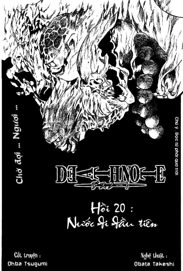 Death Note chapter 020 trang 2