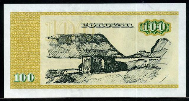 Faeroe Islands Kronur Currency Bank Note Gallery