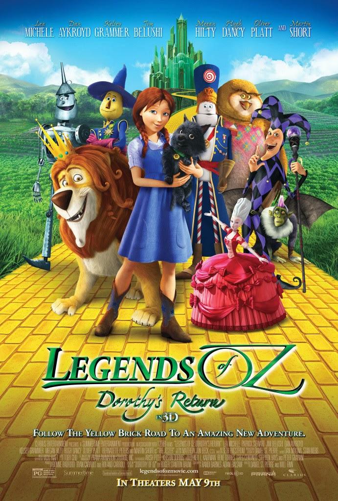 Legends of Oz Dorothy's Return ตำนานแดนมหัศจรรย์ พ่อมดอ๊อซ [HD][พากย์ไทย]