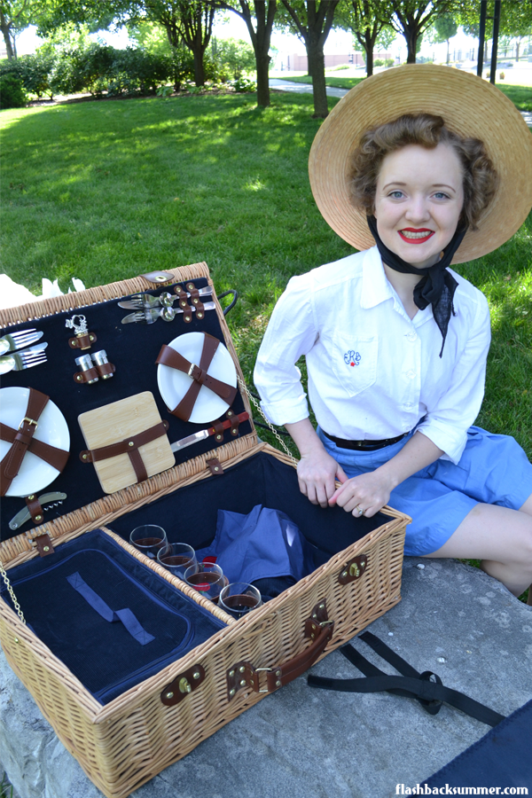 Flashback Summer: Little Debbie Vintage Summer Picnic Outfit