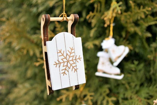 decorazioni in legno per albero di natale
