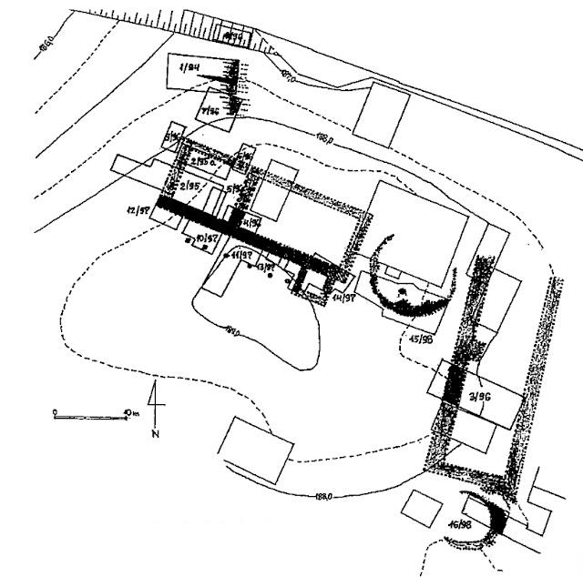 Reagia - Grodzisko wczesnośredniowieczne w Wiślicy z relikatmi dwóch palatiów i kościołów