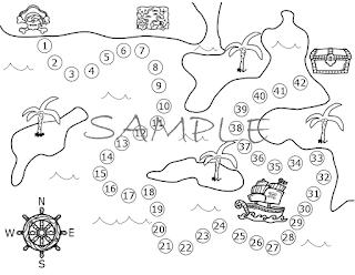Morsel Tidbits: Pirate Treasure Hallway Hunt