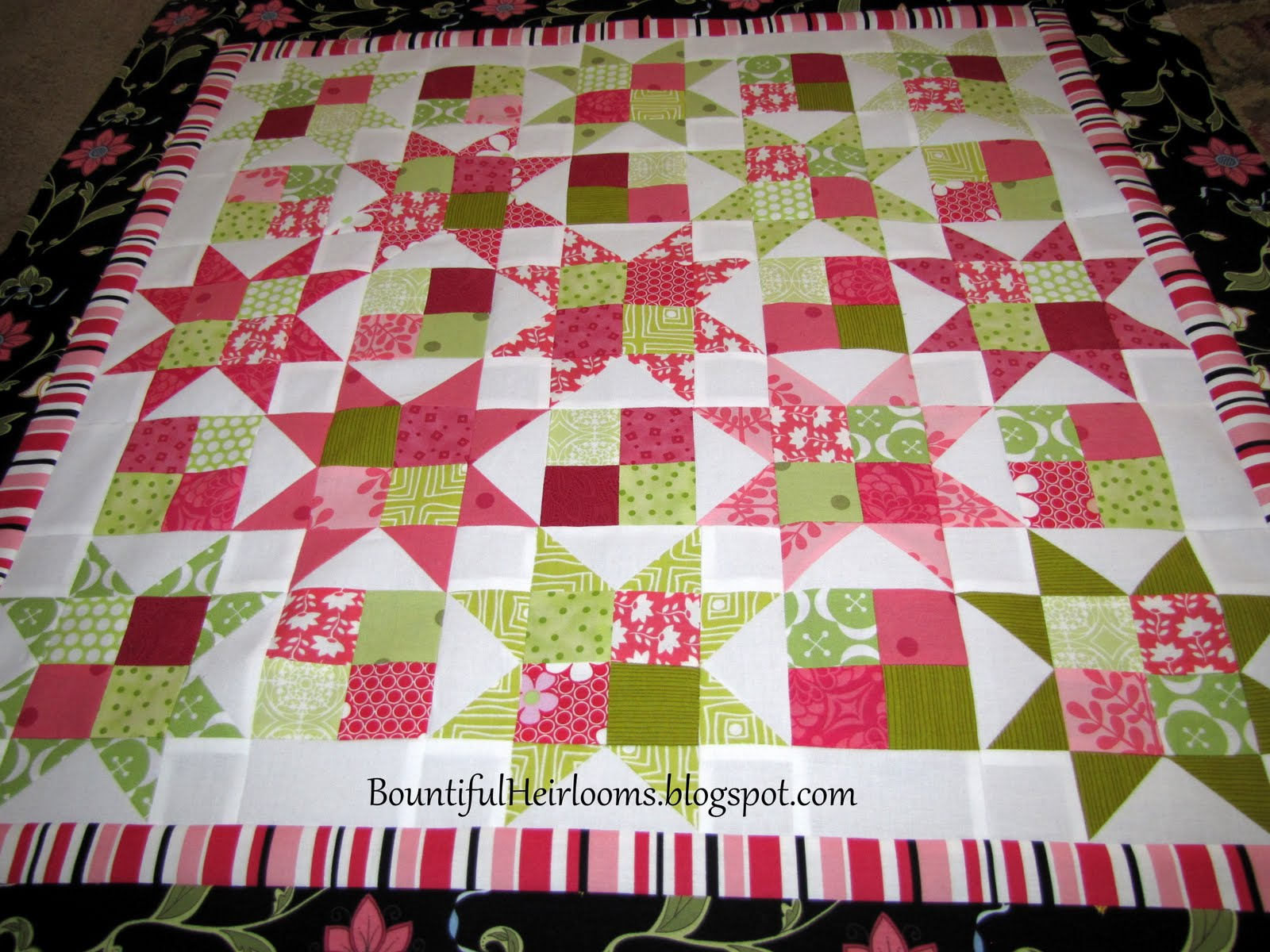 Bountiful Heirlooms So How Long Did That Quilt Take To Make