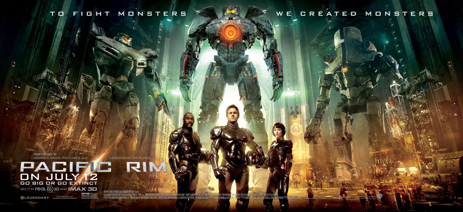 Mostly Movies with Shoutsma: PACIFIC RIM REVIEW Pacific Rim 2013