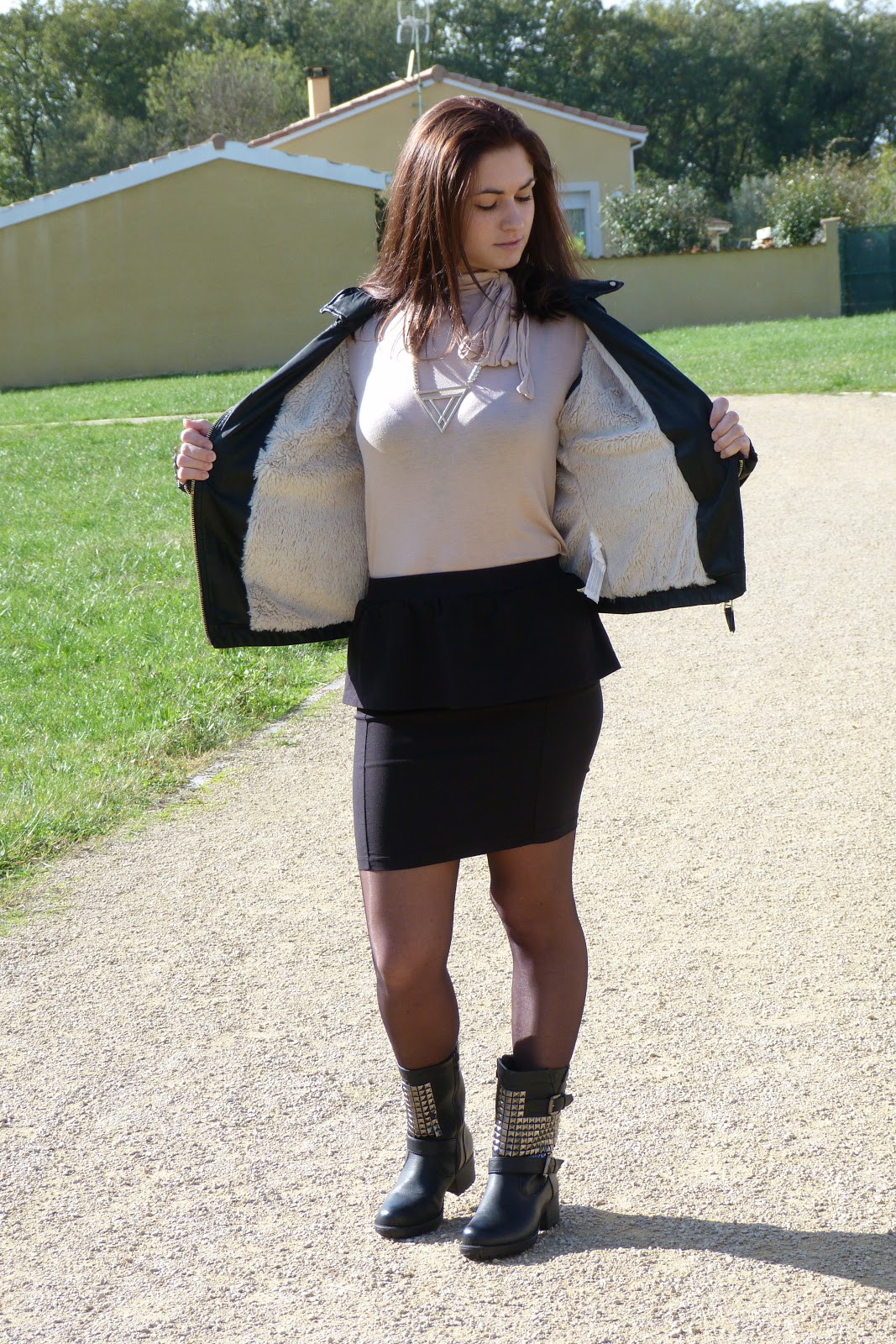 Street Style Legwear Looks Boreale Fashionmylegs The Tights And