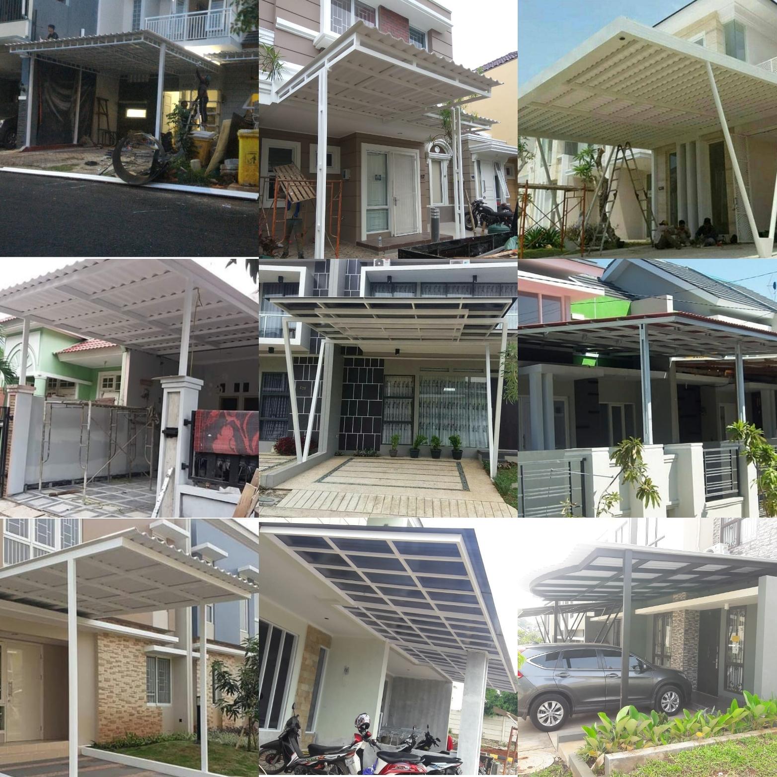 Pasang Baja Ringan Bintaro Info Kanopi Murah Bsd Gading Serpong Alam