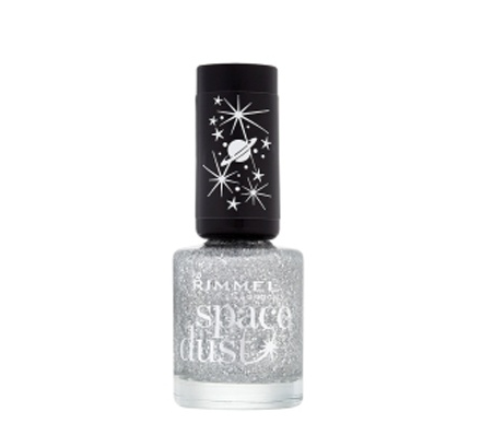 Rimmel London Space Dust Nail Varnish in Shooting Star