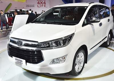 Toyota Innova 2016 Prices & Information