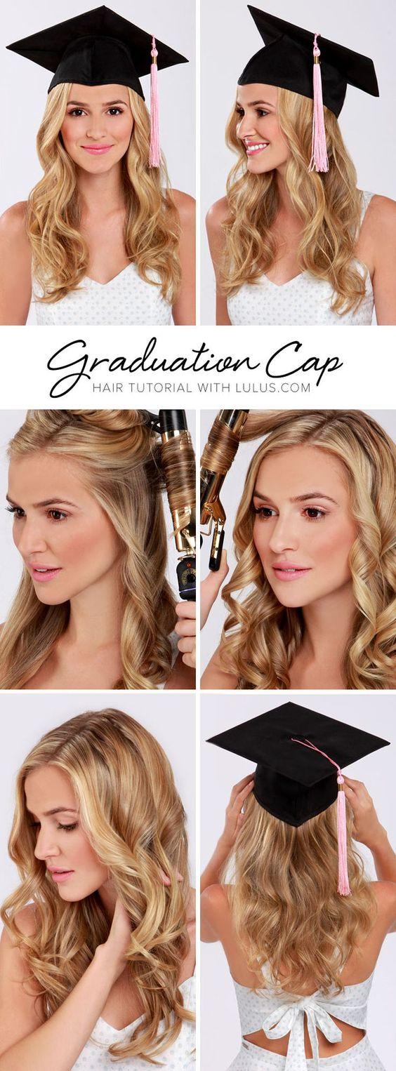 Peinados para graduación