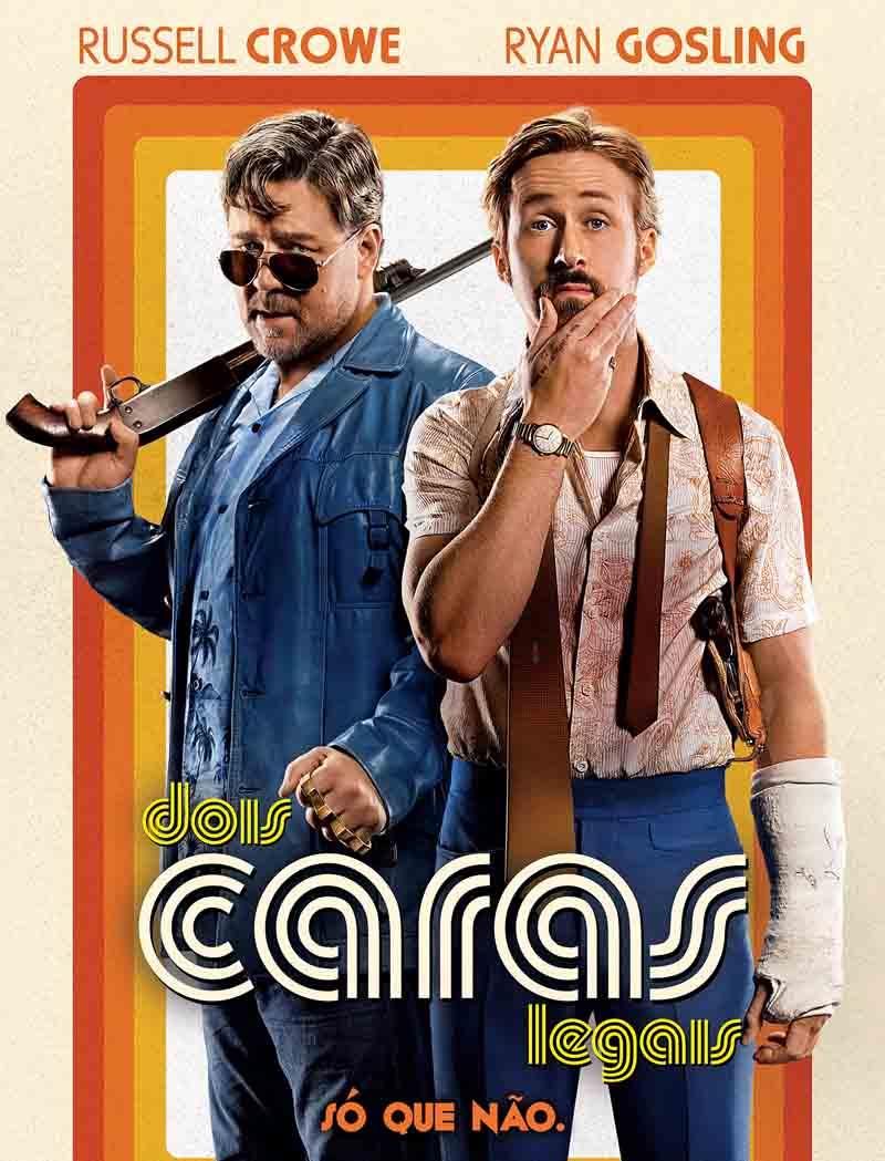 Dois Caras Legais Torrent – BluRay 720p e 1080p Dublado (2016)