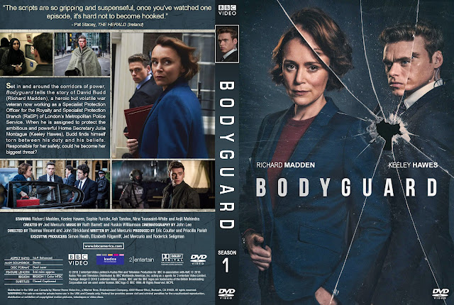 Bodyguard DVD Cover
