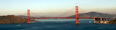 San Francisco Bridge, Golden Gate Bridge, Golden Bridge, Golden Gate Bridge Grey Color