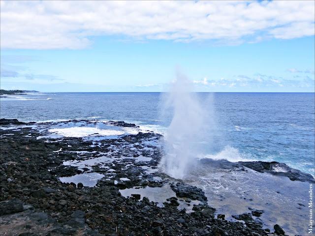 Kauai, blowhole