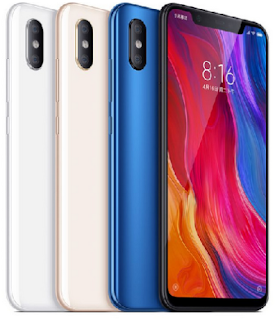 Xiaomi Mi 8 Main Specifications and Prices of Different Variants