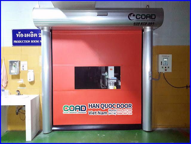 Cửa đóng mở nhanh, cửa cuốn nhanh, cửa cuốn tốc độ cao, cửa màn nhựa pvc, COAD_1