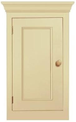 Single door handmade kitchen cupboard in Northampton, Northampton Pegasus pine