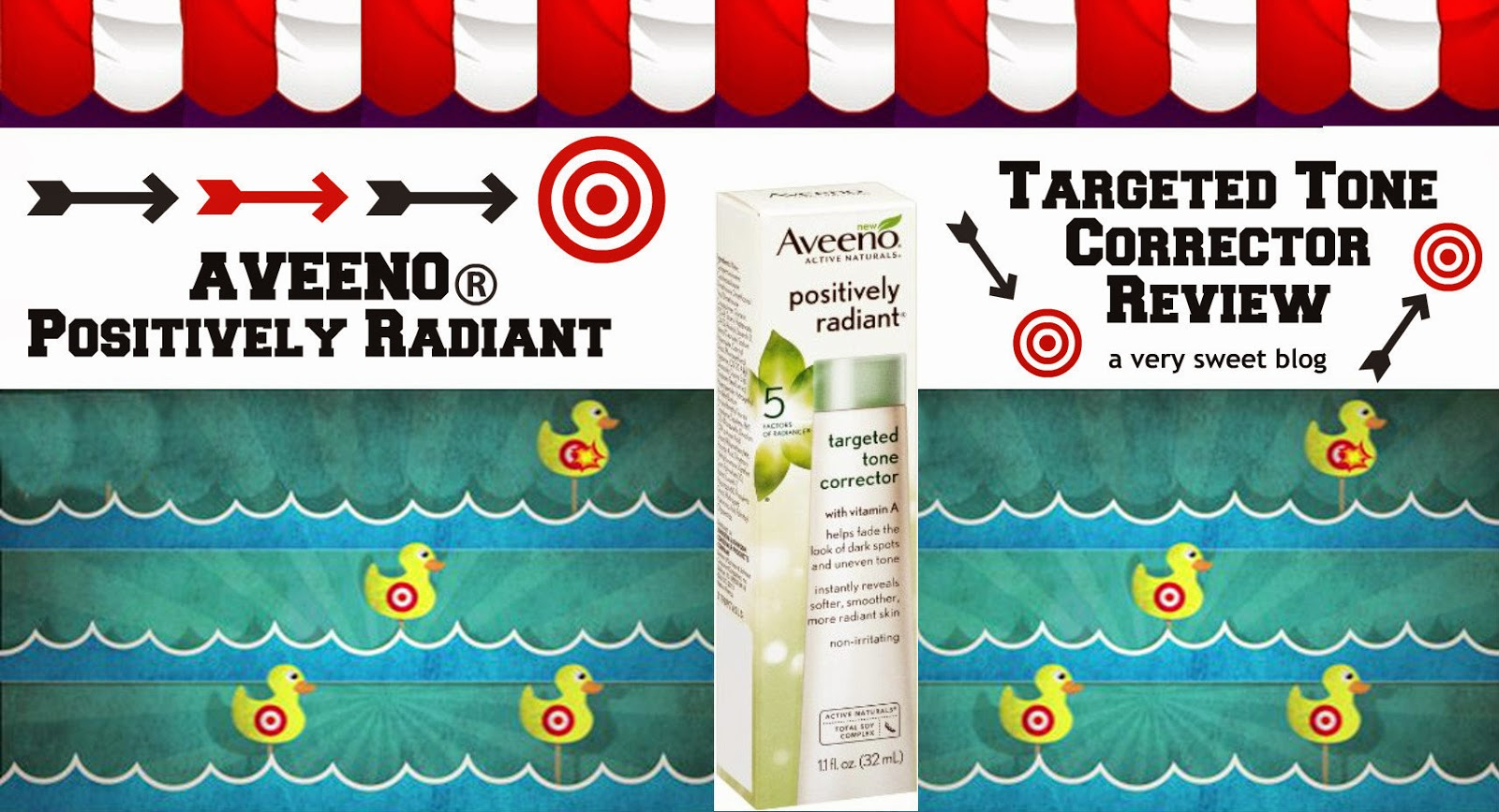 Target Dark Spots! AVEENO® Positively Radiant® Targeted Tone
