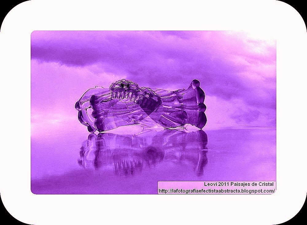 Abstract Photo 3145 Crystal Landscape 158  I wanna play with your infinite harmony - Quiero jugar con tu infinita armonía