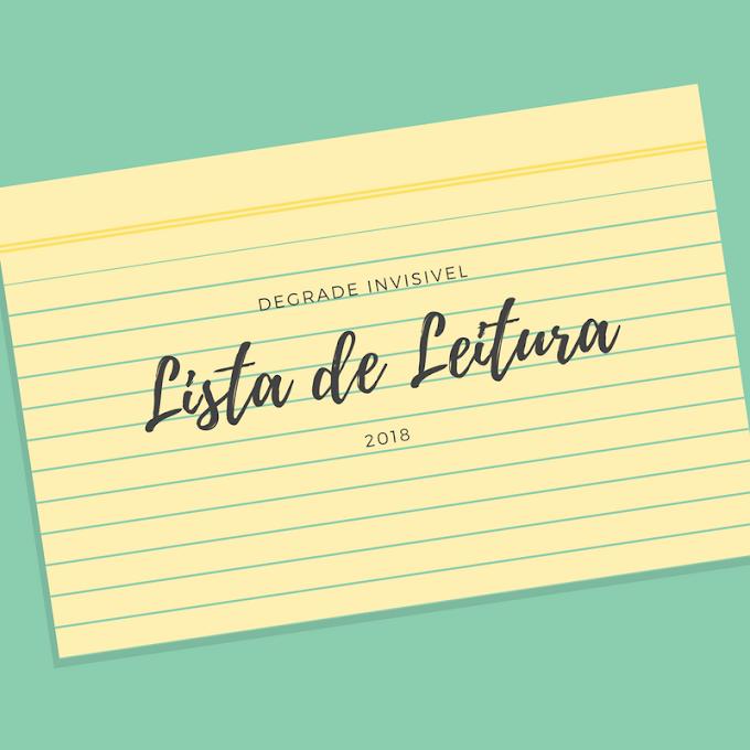 Lista de Leitura - 2018