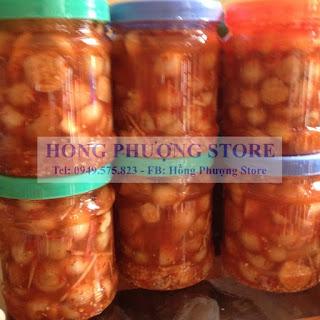 Bán cà dầm tương hương vị Nghệ An tại Hà Nội
