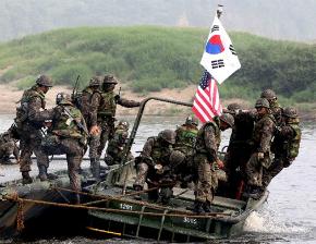 Coreia do Sul e EUA realizam exercícios militares com armas reais