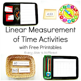 Linear Measurement of Time Activities