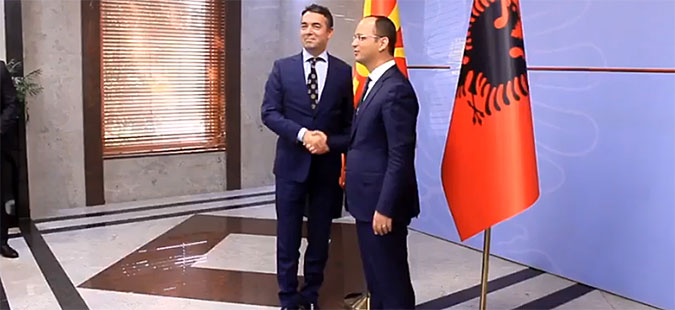 Macedonia and Albania agree to hold joint session of governments (UPD)
