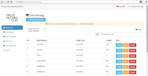 Aplikasi Penjualan Berbasis web