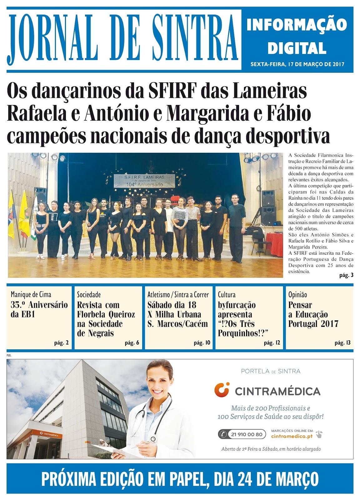 Capa da edição de 17-03-2017