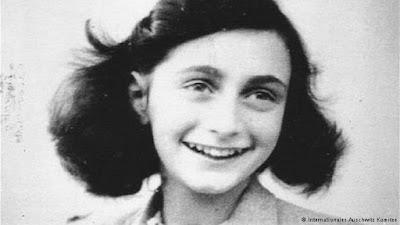 Poema de Anne Frank é vendido por 140 mil euros