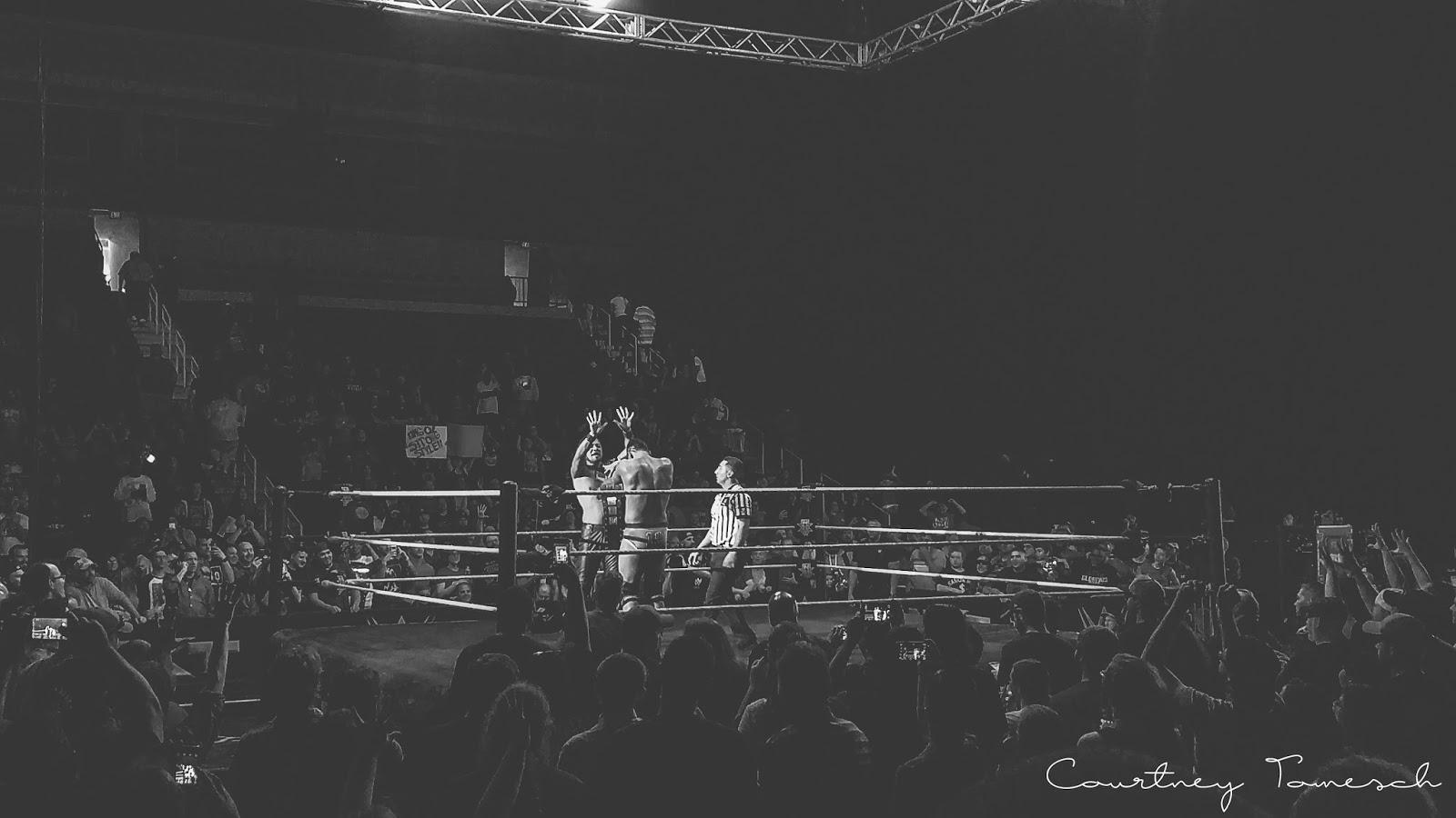 Courtney Tomesch NXT Live Norfolk Shinsuke Nakamura Tye Dillinger