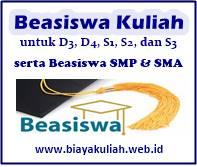 Beasiswa Kuliah D3, D4, S1, S2, dan S3 2019/2020, serta Beasiswa untuk SMP / SMA / sederajat