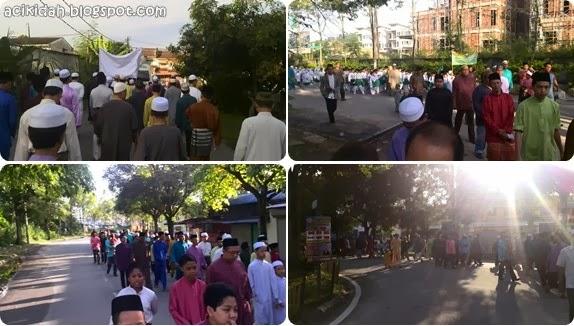 Perarakan Sambutan Maulidur Rasul 2014