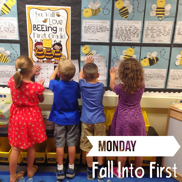 Editable all About My Teacher first week of school roam the room from Angie Neal on TPT- Fall Into First