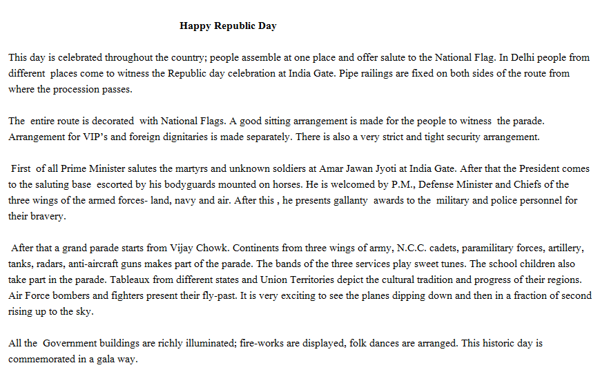 39+ Slogans on Republic Day 2019 in Hindi and English for Students