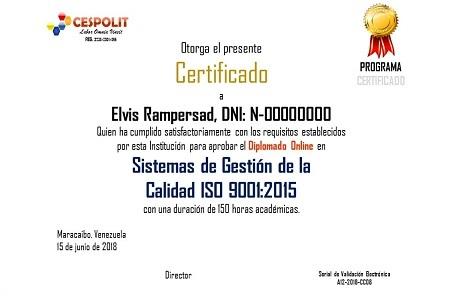 Certificados, Diplomados