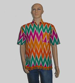 Baju Batik Pria, Hem Batik Rangrang [H882]