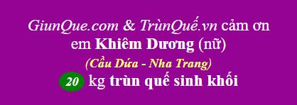 Trùn quế Cầu Dứa, Nha Trang