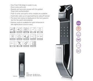 Sức hút của Khóa điện tử vân tay Samsung trên thị trường