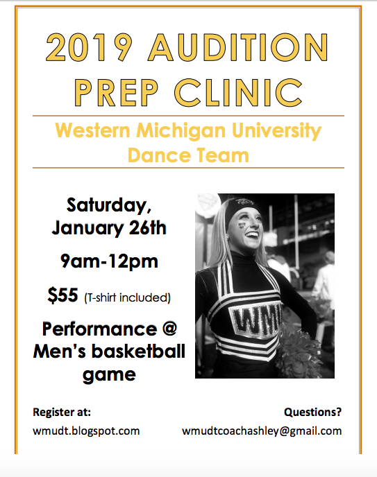 Western Michigan Dance Team