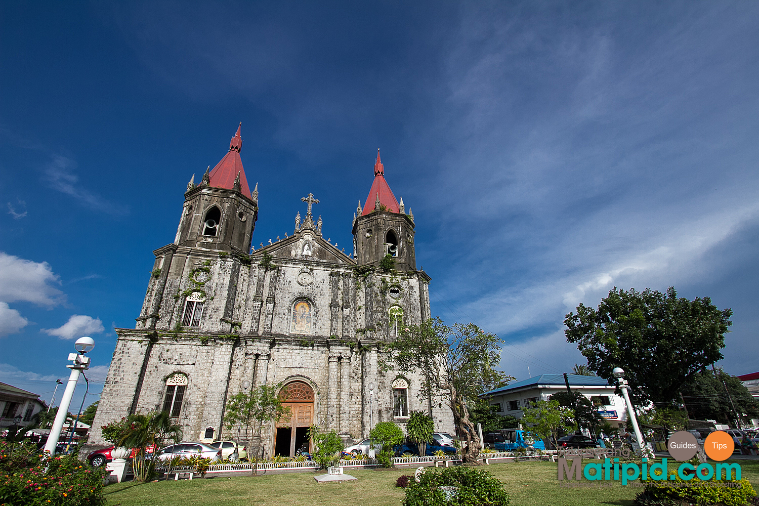 Facade of Molo Church