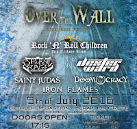 Over The Wall - Crete Rock Festival 2016